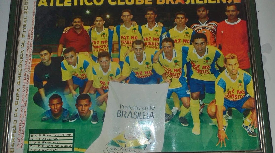 Atlético Brasileense 2002 - Campeão da Copa Amazônica ( Imagem Bil Rocha)