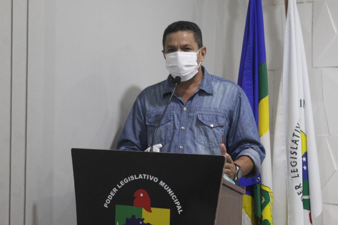 Joãozinho Melo, Secretário Municipal de Saúde de Brasiléia, explica ações de combate a covid-19 no municipio.